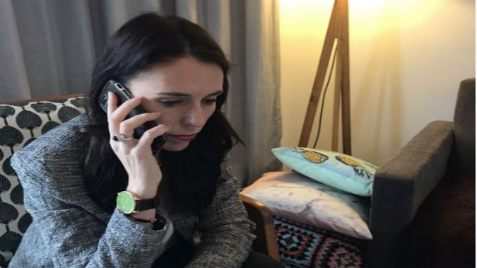 American President Donald Trump called Labour Party leader Jacinda Ardern this morning. (Photo: Supplied)