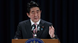 Abe pushes reform after election win