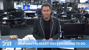 Mike's Minute: New govt already has explaining to do