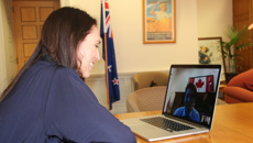 Ardern shares Skype call with Justin Trudeau