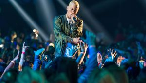 It comes after the National Party was found guilty of ripping off Eminem's song 'Lose Yourself' in its 2014 election campaign ad. (Photo \ Getty Images)