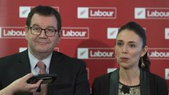 Minister of Finance Grant Robertson and Prime Minister Jacinda Ardern. Photo/NZ Herald
