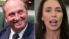 Barnaby Joyce and Jacinda Ardern. Photo/File