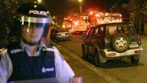 Waikato police attacked with bottles, paintball gun