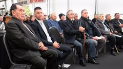 Toll stadium was filled during the powhiri for the Waitangi Tribunal's urgency hearing into the Crown's recognition of the Ngatiwai mandate in October 2016. (Photo \ Tania Whyte)