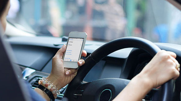 Road accidents are increasing because of distracted drivers. Photo/File