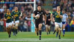 The Rugby World Cup 2019 draw sees the All Blacks start their campaign against South Africa - a repeat of the 2015 semifinal. (Photo / Photosport)
