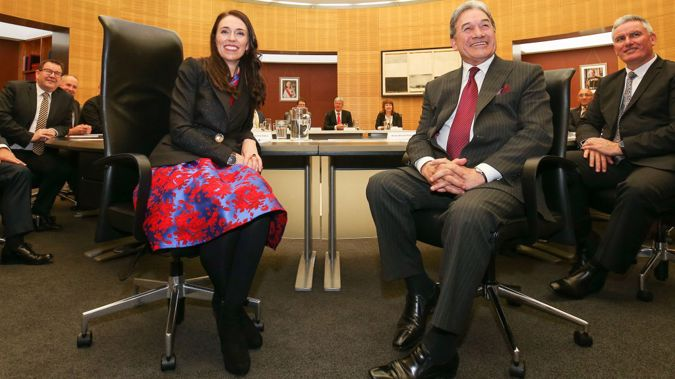 Winston Peters has been out of the spotlight letting Labour run the show. Photo/Getty