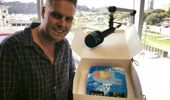 An incredible leaving cake from a listener, Rachael