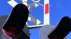 Two killed on railway crossing