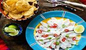 Nici Wick's fresh Mexican cerviche dish. (Photo: Babiche Martens)