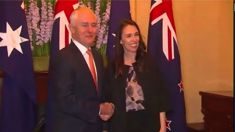 Ardern and Turnbull 'We are family'