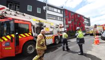 Fire breaks out in Auckland apartment building