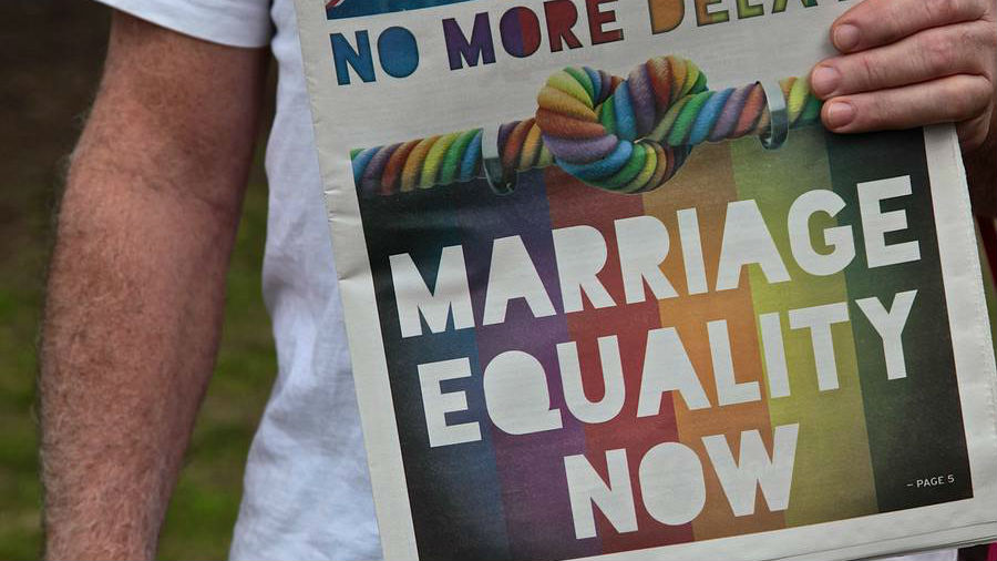 Voter turn-out has been much better than expected in Australia's plebiscite on same-sex marriage.