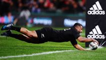 All Blacks on the cusp of historic try mark