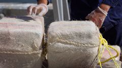 12 tonnes of cocaine was seized by police. Photo/Getty