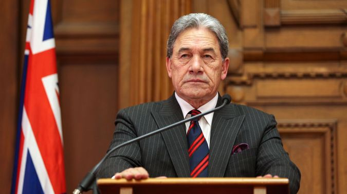 Winston Peters has released a statement about their actions. Photo/Getty
