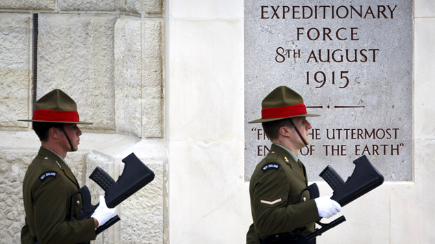 Armistice Day: UK falls silent to remember war dead