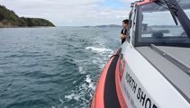 Seven saved after fishing charter hits rocks