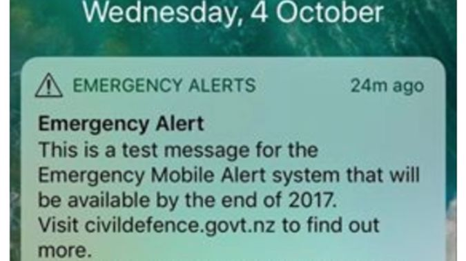 The alerts were accidentally sent in the middle of the night last month. Photo/NewstalK ZB