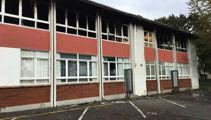 Teenagers arrested following Hamilton school fire