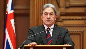 Chris Finlayson has hit out at the Deputy PM over the legal action he is taking. Photo/Getty