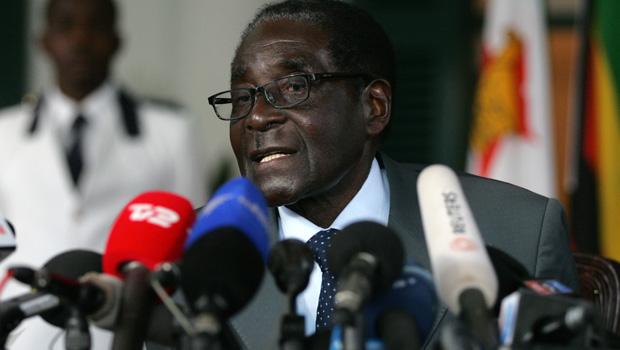 Former Zimbabwe president Robert Mugabe. (Photo \ Getty Images)
