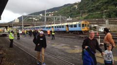 Wellington is going without trains for 24 hours. Photo/File