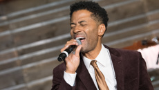 Eric Benet on his first time in New Zealand