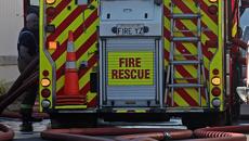 Fire shuts down Queen St