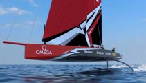 Team New Zealand reveal new America's Cup boat