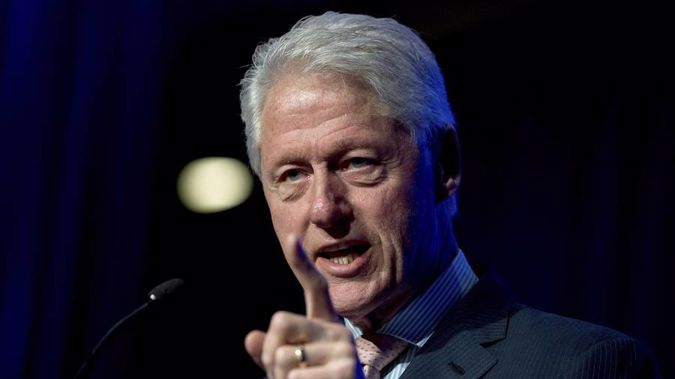 Former President Bill Clinton. (Photo / AP)