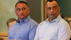 Sergeant Vaughan Perry and Inspector Hurimoana Dennis were jointly charged with kidnapping a teenage boy. (Photo / Greg Bowker)