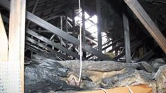The damage inside the family's house. (Photo/NZ Fire Service)