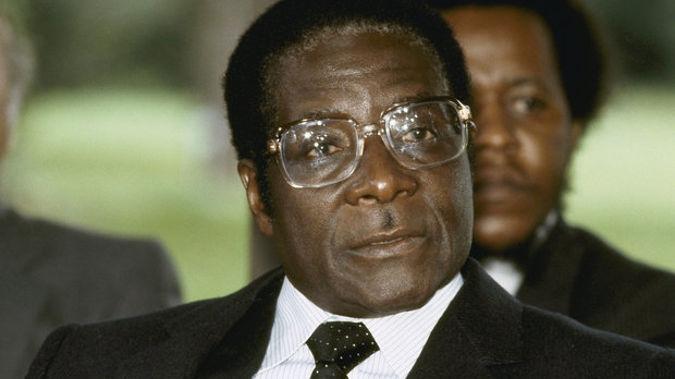 Zimbabwe Prime Minister Robert Mugabe in 1982. (Photo / AP)