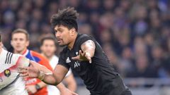 Ardie Savea in action for the All Blacks. (Photo \ Photosport)