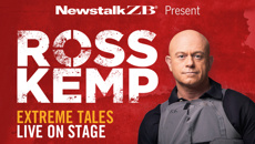 For the first time in New Zealand, Ross Kemp - Extreme Tales: Live on Stage