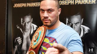 Parker has degraded WBO belt: Joshua