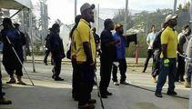 Brutual police crackdown on Manus Island refugees