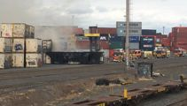 Firefighters battle two large blazes in Auckland
