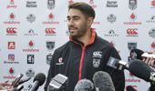 Shaun Johnson says players' comments about fans wanting the team to lose were taken the wrong way. (Photo / NZ Herald)