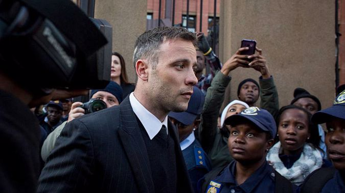Oscar Pistorius during his resentencing hearing in June 2016. (Photo / Getty Images)
