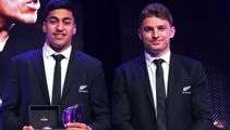 Barrett joins World Rugby elite, as NZ dominate World Rugby awards