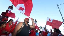 Tongan league protest: 'Give us our win'