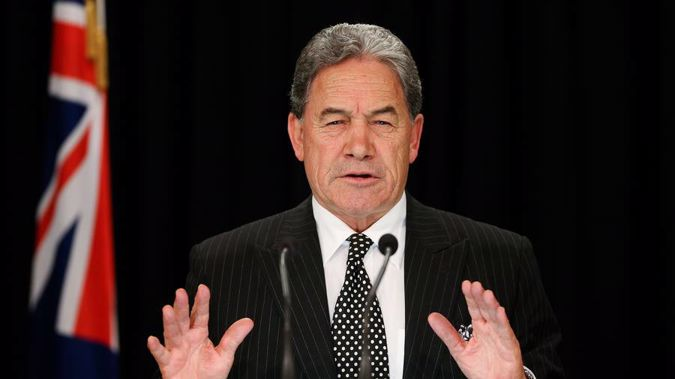NZ First leader Winston Peters is seeking damages from those who were allegedly behind the leak of his superannuation details. (Photo / Getty)