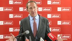 Andrew Little made the announcements this weekend. (Photo/NZ Herald)
