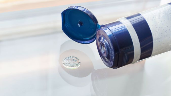 Microbeads in products have been determined to be an environmental hazard. (Photo/Getty)