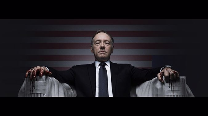Kevin Spacey's character may be killed off after allegations of sexual assault saw the actor axed from the hit show. (Photo \ Supplied)
