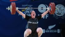 Transgender Kiwi lifter creates history twice in one day