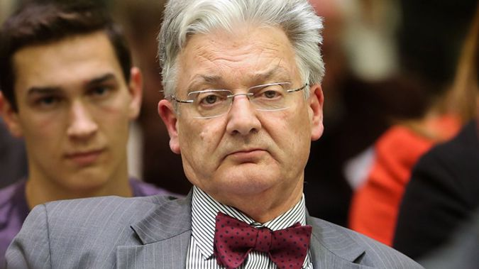 Peter Dunne put the challenge out to a new generation of politicans. (Photo / Getty)